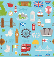 united kingdom great britain travel tourism vector image