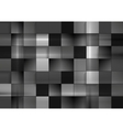 Abstract black futuristic squares background vector image vector image