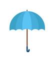 blue umbrella icon blue umbrella isolated on vector image vector image