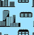 buildings seamless vector image