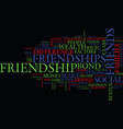 friendships does difference in wealth hurt or vector image vector image