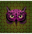 Mystic owl vector image vector image