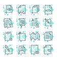 Paper icons document icons eps10