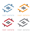 set of residential real estate vector image