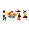 children set vector image