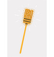 household used broom vector image vector image