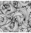 seamless black and white pattern abstract vector image