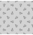 seamless grey badminton ball pattern shuttlecock vector image vector image