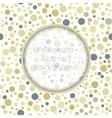 Seamless pattern stylish colorful vintage polka vector image vector image
