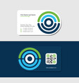 computer tomography and mri business card vector image