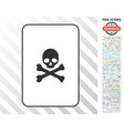 death card with bonus vector image vector image