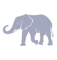 Hand drawn silhouette elephant vector image vector image
