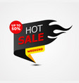 hot sale banner template design for business vector image vector image