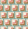 retro seamless tile pattern background 0105 vector image vector image