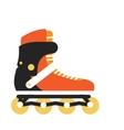 Roller Skate in Flat Design vector image vector image