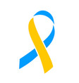 world down syndrome day march 21 blue yellow vector image vector image