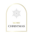 a simple white christmas greeting card