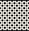 polka dot monochrome seamless pattern black vector image