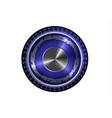 round logo on white background vector image vector image