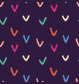 seamless abstract pattern simple background vector image vector image