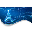 The Magic Christmas Tree vector image vector image