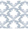 Vintage Floral Baroque ornament damask pattern vector image vector image