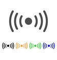 wi-fi point icon vector image vector image