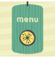 lemon or orange slice fruit icon modern logo vector image