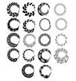 circular-elements vector image vector image