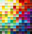 Colorful pixels 2 vector image vector image