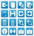 pc icon basic style vector image