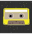 pixel art cassette vector image vector image