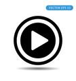 play button icon eps 10 vector image vector image