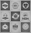 Premium Guarantee and sale Labels vector image