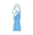 virgin mary holding baby jesus catholic image vector image vector image