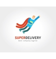 Abstract delivery logo icon concept Logotype vector image vector image