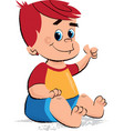 baboy children vector image vector image