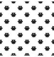 badge emperor pattern seamless vector image vector image