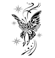 butterfly tattoov vector image vector image