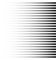 halftone black horizontal lines repeat straight vector image vector image