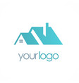 house rorealty business logo vector image vector image