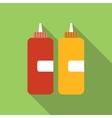 Ketchup flat icon vector image