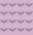 night moth in mandala style violet background vector image