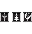 plant icon vector image