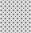 Seamless monochrome grid pattern vector image vector image