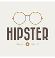 Vintage hipster badges and labels vector image vector image