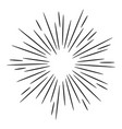 doodle design element starburst vector image vector image