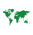 ecology world map vector image