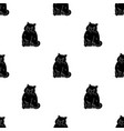 exotic shorthair icon in black style isolated on vector image vector image