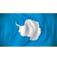 Flag of Antarctica vector image